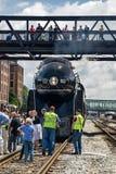 N&W Class J611 Engine royalty free stock photo