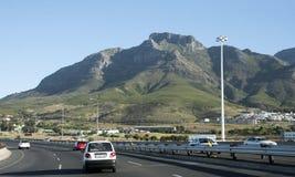 N2 Weg Cape Town Zuid-Afrika Stock Foto's