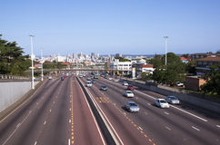 N3 Western Freeway Entrance at Tollgate to Durban, South Africa Stock Photography