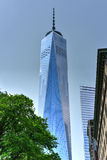 Één World Trade Center - de Stad van New York Royalty-vrije Stock Afbeelding