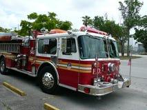 911 N Y C Pożarniczy silnik Przechodzić na emeryturę Floryda obrazy stock