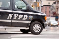 N.Y.P.D. royalty free stock photography