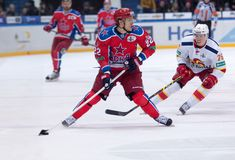 N. Zaitsev (22) and E. Sallinen (76) Royalty Free Stock Image