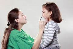 N1H1 vaccination Stock Image