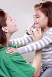 N1H1 vaccination Stock Images