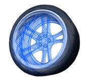 N2 de noeuds de roue Illustration de Vecteur
