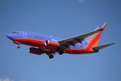 N553WN西南航空波音737-7BX (WL) 免版税库存图片
