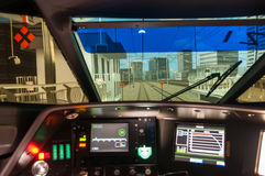 Free N700 Shinkansen Train Driving Simulator Royalty Free Stock Photography - 87787277