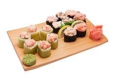 Nações diferentes do sushi Fotos de Stock