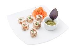 Nações diferentes do sushi Fotografia de Stock