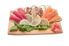 Nações diferentes do sushi Foto de Stock