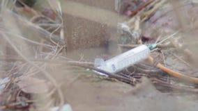 Nałóg strzykawka Grat (blisko zbiory wideo