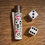 Nałóg uprawiać hazard obraz royalty free