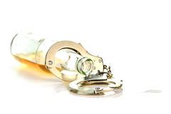 nałogu alkohol Obrazy Royalty Free