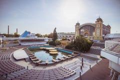 Na ¡ fontà Ãkova ¾ KÅ™iÅ фонтана Krizik в Праге, чехии Стоковые Изображения RF