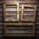 Na ścianie kamienny talerz Fotografia Royalty Free