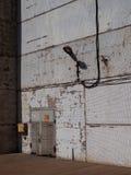 Na ścianie lampion obraz stock