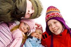 Na śniegu fotografia royalty free