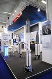 Na 2009 Paryskich pokaz lotniczy Rosja technologia wyświetlaczy Zdjęcie Royalty Free