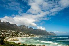 12na Apostels i Cape Town Sydafrika Arkivbilder