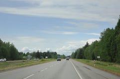 Na autostradzie fotografia royalty free