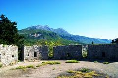 Na bastionie forteczny Spanjola Obraz Royalty Free