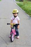 Na bicicleta Fotografia de Stock Royalty Free