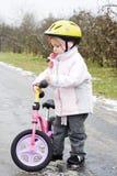 Na bicicleta Imagens de Stock Royalty Free