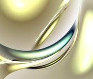 Na biel Cyfrowego fractal Fotografia Royalty Free