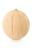 Na biel kantalupa melon obraz royalty free
