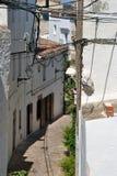 Ulica w Tossa De Mącący, Catalonia, Hiszpania Zdjęcia Royalty Free