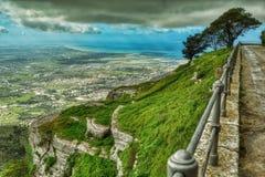 Na borda de Sicília imagem de stock royalty free