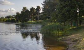 Na brzeg rzeki Zdjęcie Stock