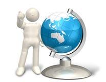 na całym świecie Fotografia Stock