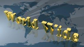 Na całym świecie Obraz Stock