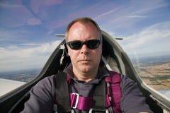 Na cabina do piloto Imagens de Stock