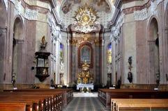 Na capela Imagem de Stock