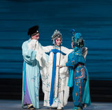 "Na catastrofe-Kunqu Opera""Madame Witte Snake† Royalty-vrije Stock Foto"