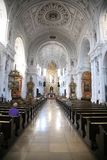 Na catedral Foto de Stock Royalty Free