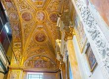 Na catedral de Ajácio Fotos de Stock