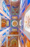 Na catedral ortodoxo do Kremlin de Suzdal Imagens de Stock