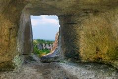 Na caverna Imagens de Stock