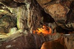 Na caverna Fotografia de Stock