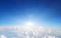 na chmury Fotografia Royalty Free