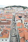Na cidade de Lisboa, Europa Fotos de Stock Royalty Free