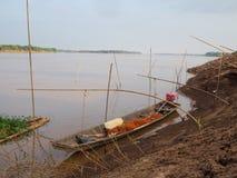 Na cidade em Nakhon Phanom fotografia de stock