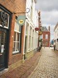 Na cidade holandesa de Heusden. Fotografia de Stock