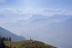Na cimeira de Heuberg Foto de Stock Royalty Free