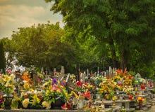 1 na cmentarz Obraz Stock