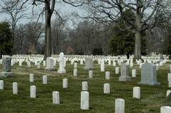 na cmentarzu arlington Obrazy Royalty Free